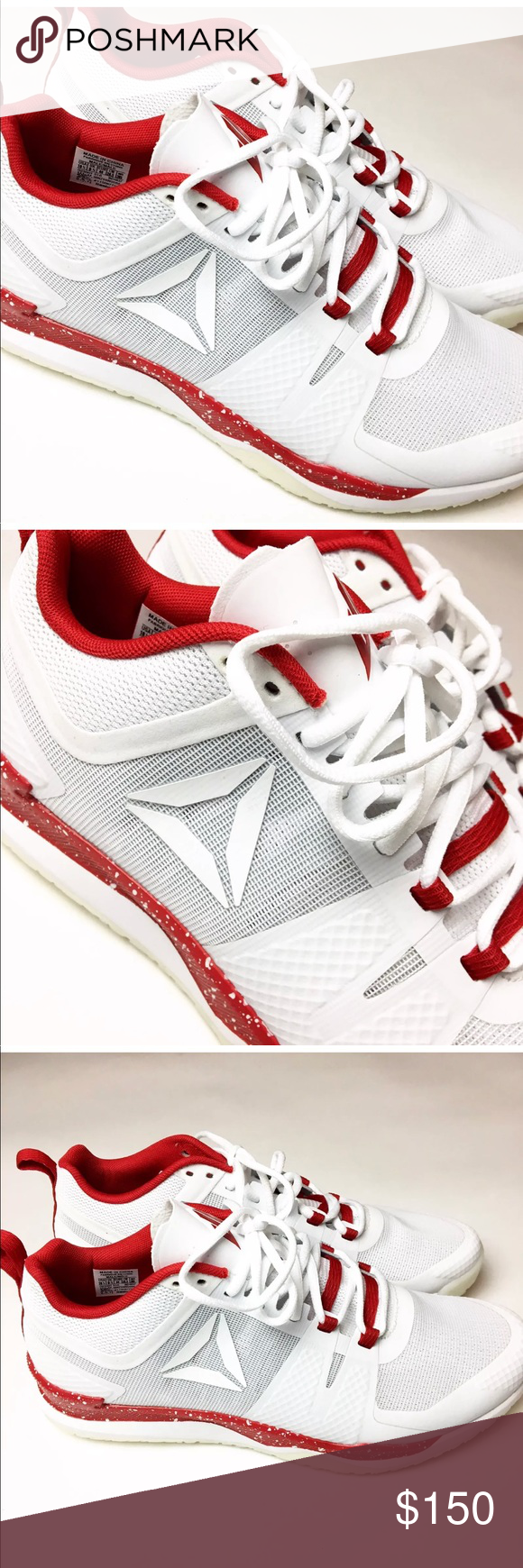 Reebok JJ 1 Watt Red Skull White Training Sneaker NEW Reebok JJ 1 Watt  Men s Size 8 Red Skull White Training BD4837 Condition  New with Box 1c45155c2