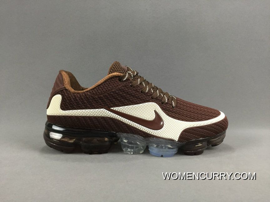 NIKE AIR VAPORMAX FLYKNIT 2018 Brown White in 2019  689980bec