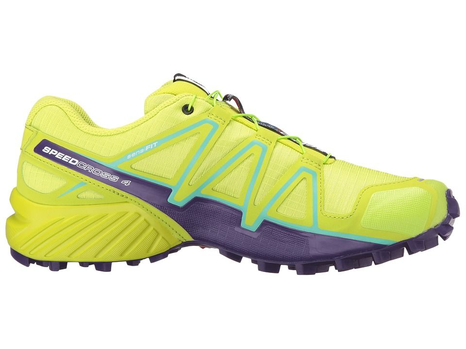 Salomon Speedcross 4 Women - lime punch/biscay green/acai
