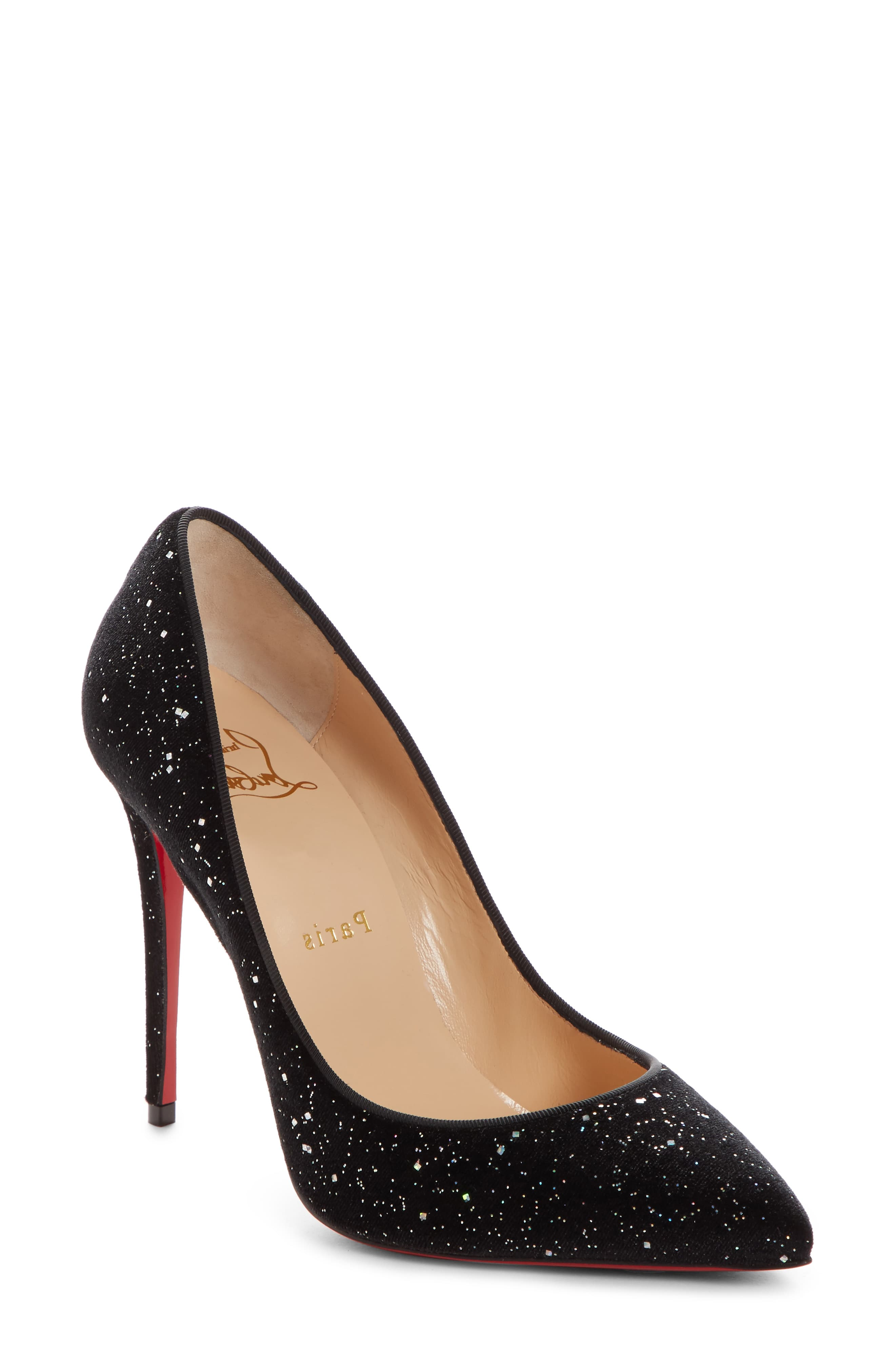 size 40 a503f 43505 Women's Christian Louboutin Pigalle Follies Pointy Toe Pump ...