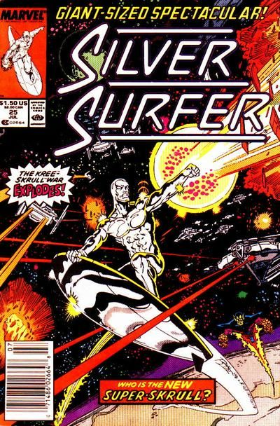 Silver Surfer July 1989 #25