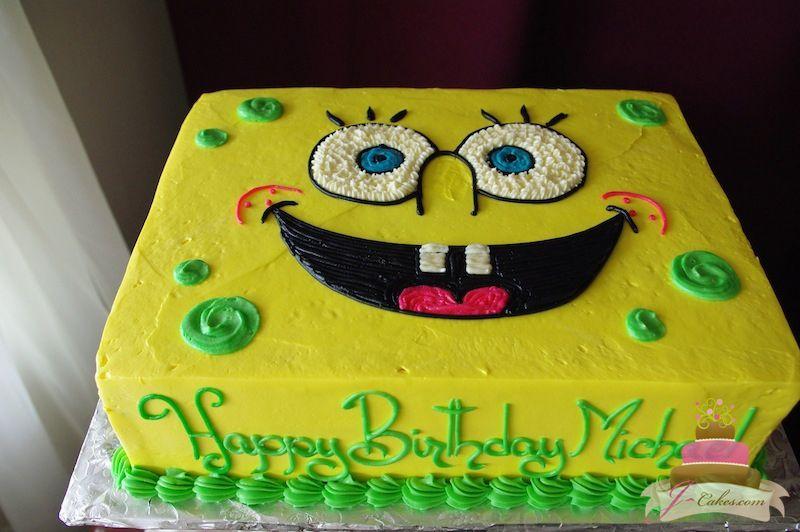 439 Spongebob Cake Kids Cakes Pinterest Cake Sponge bob