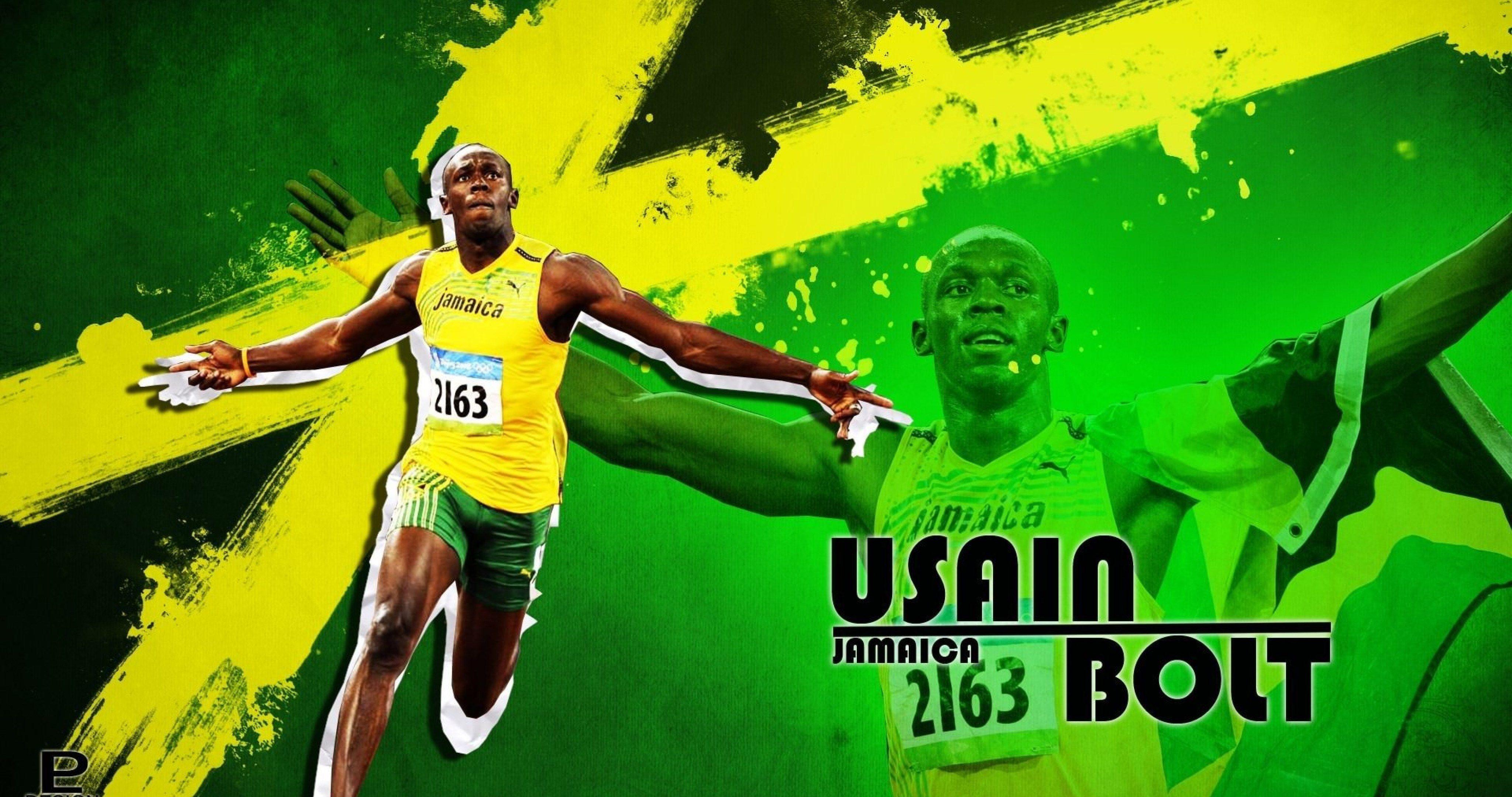 Usain Bolt Sprinter 4k Ultra Hd Wallpaper