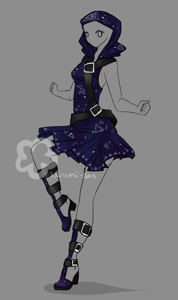 Fantasy Outfit Auction - OPEN by Nahemii-san on DeviantArt ...