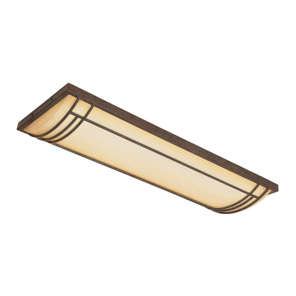 Designers Fountain ESWM Light Cabrillo Fluorescent Linear - Flush fluorescent kitchen ceiling lights