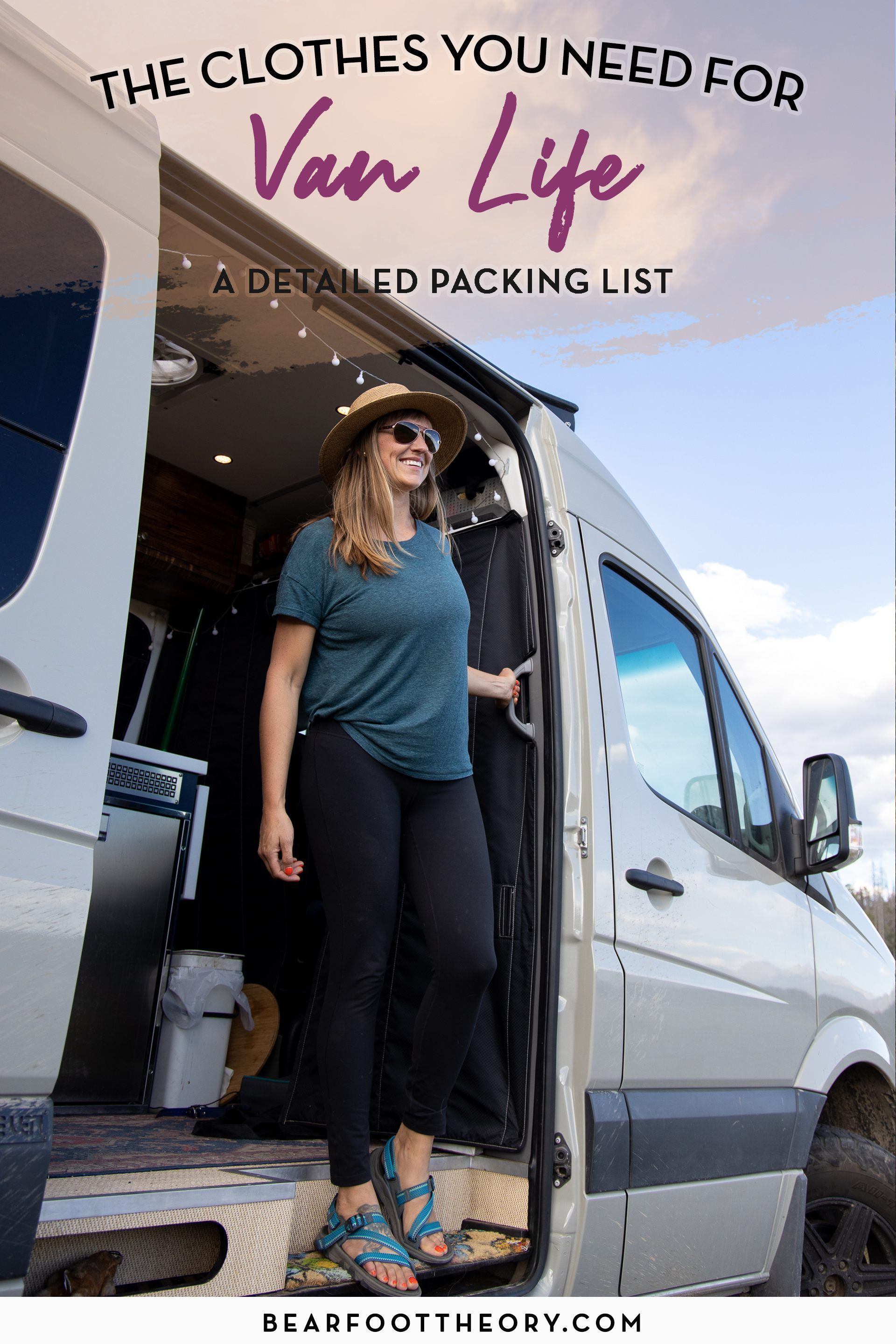Advice For Building And Living In A Diy Ford Transit Camper Conversion This Vanlifeideas Camping Campervan Bahn Ca In 2020 Packing Clothes Van Life Van Life Diy