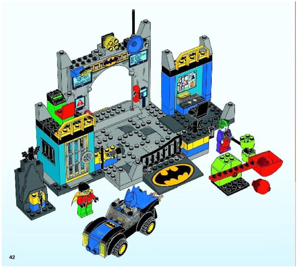 Junior Batman Defend The Batcave Lego 10672 Lego Pinterest