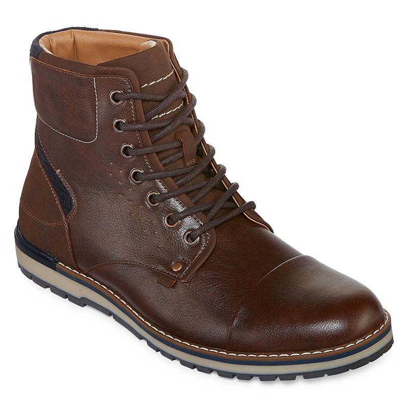 d93218e0d8de1 JF J.Ferrar Mens Dalton Lace Up Boots Lace-up