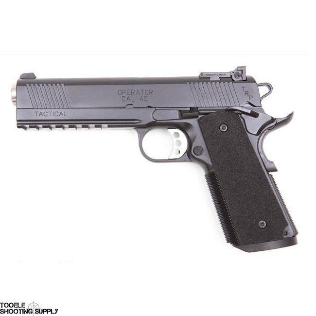 Springfield trp operator night sights acp pistols rally also best gear suppressors images firearms gun guns rh pinterest
