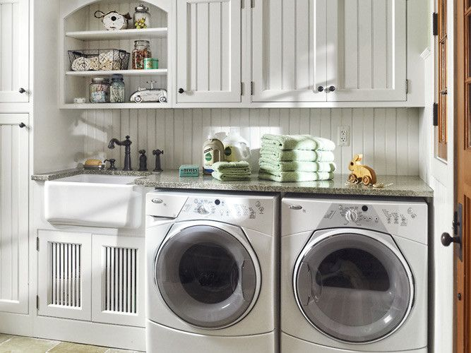 Laundry Room A Simple Efficient Space Room Tour Wayfair Vintage Laundry Room Laundry Room Decor Laundry Room Makeover