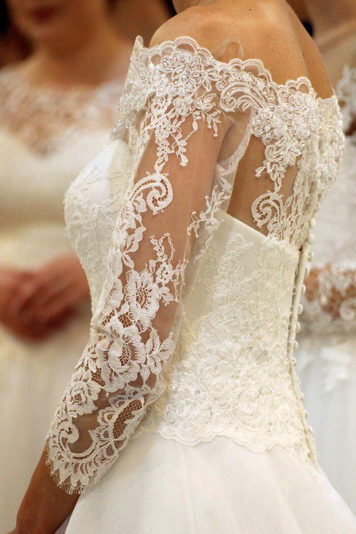 Brautkleider aus spitze 2018
