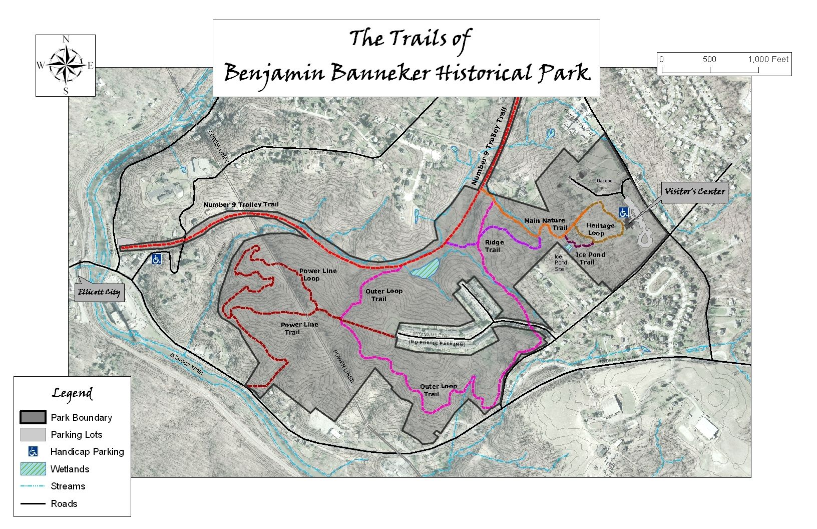 Trails of Benjamin Banneker Historic Park and Museum | The Banneker on