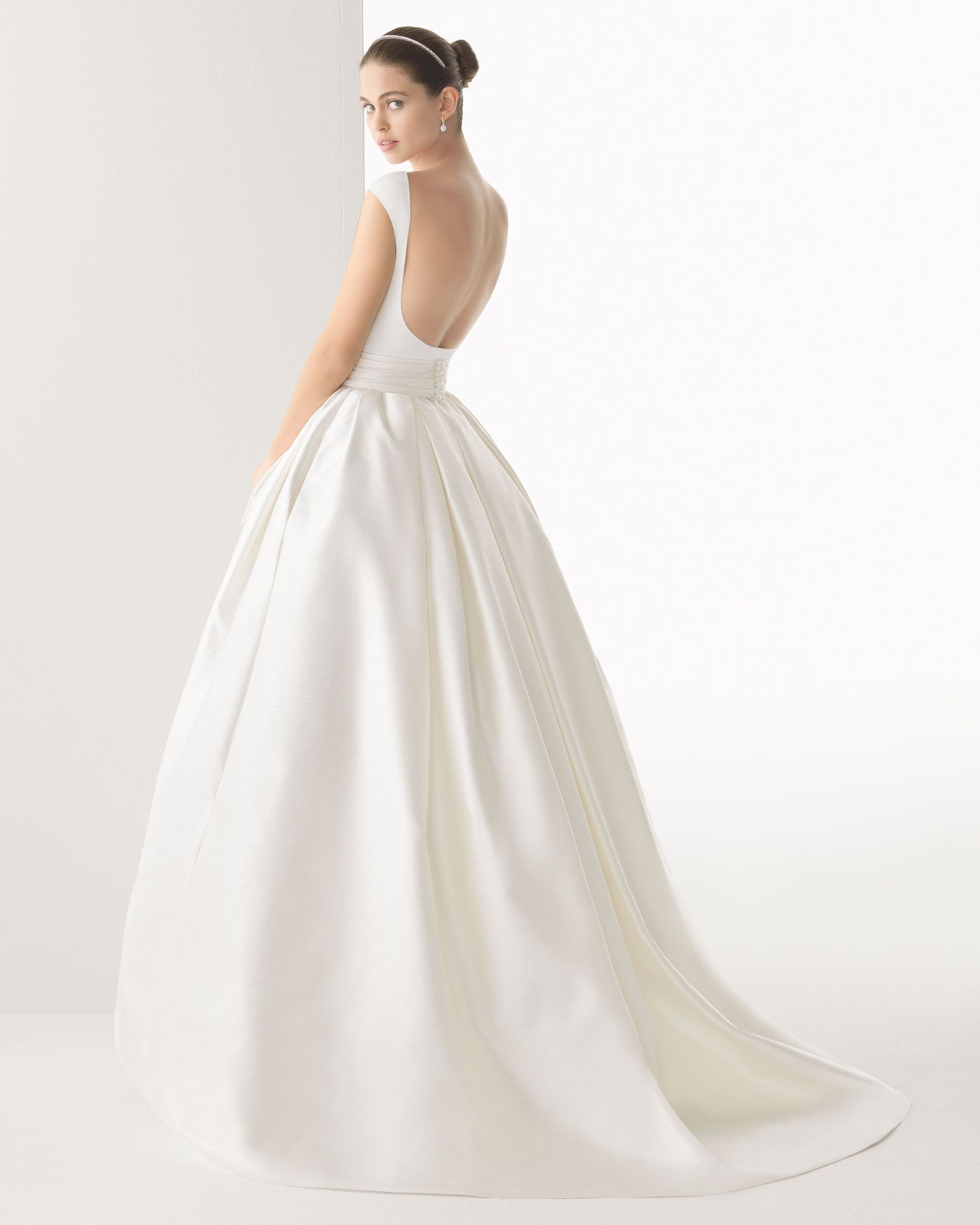 I think this princess skirt wedding dress would still work on the ...