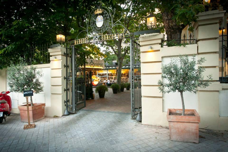 New Organic Restaurant In Madrid Terrazas Palacios Y