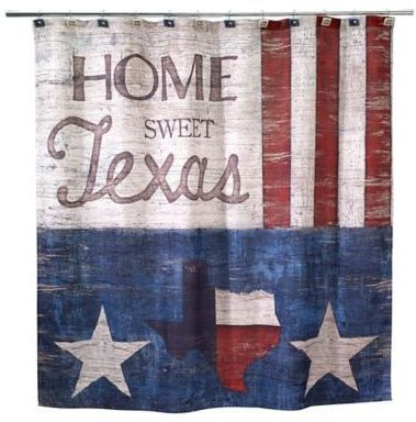 Avanti Home Sweet Texas Shower Curtain Texas Shower Curtain