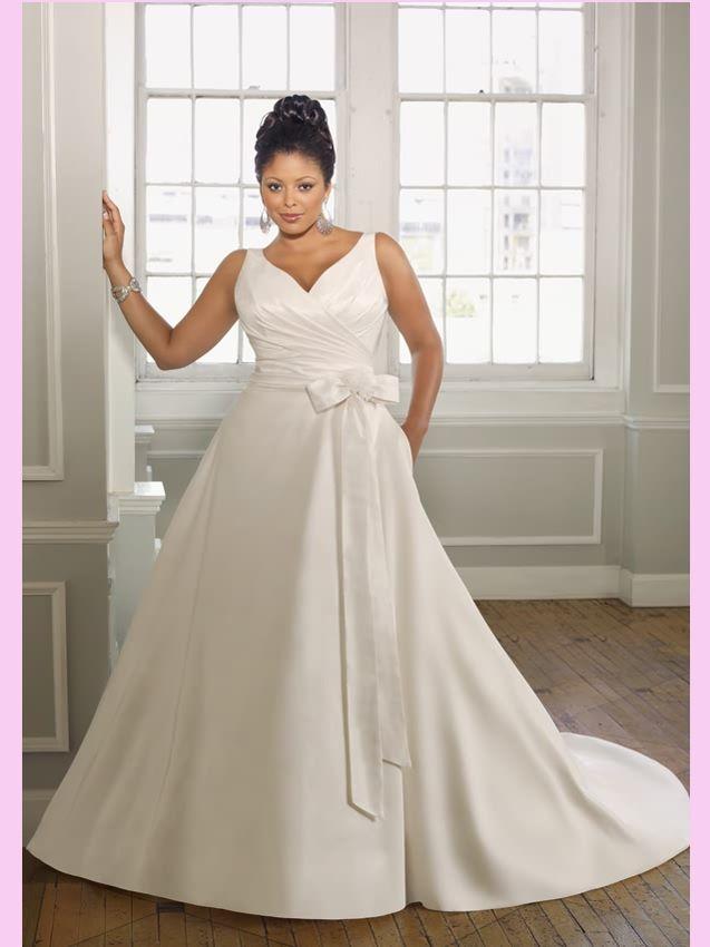Plus Size Wedding Dress Fat Style Bride Dress Flatter Your