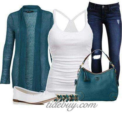 Teal blue fashion   Teal blue