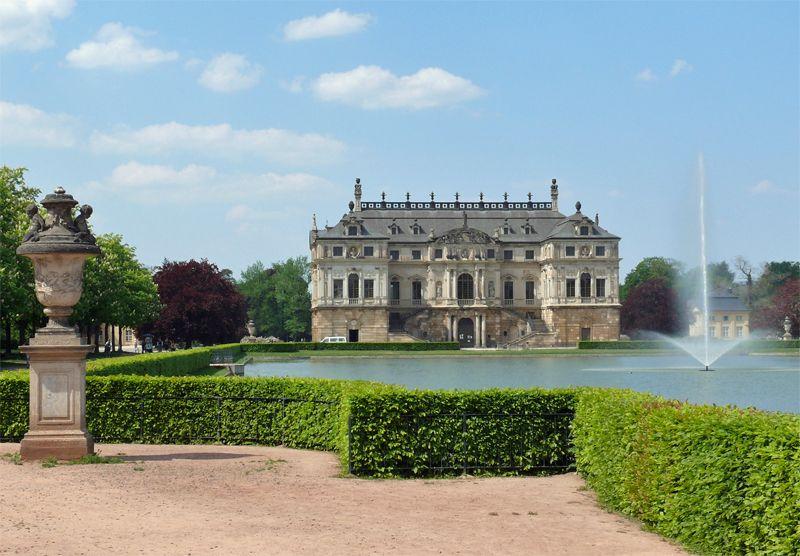 Großer garten  Palais-Grosser-Garten.jpg (800×556)   Wanderlust   Pinterest ...