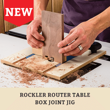 Rockler router table box joint jig make strong tight fitting box woodworking tools supplies hardware plans finishing rockler router table greentooth Gallery