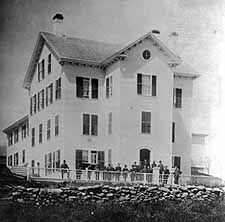 Old Whitney Hall 1881 Built As A Home For Orphans Of