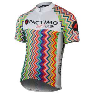 8c194dc7c95043 Premium cycling apparel affordable for all riders. Premium Quality (men s  zig zag rainbow jersey)