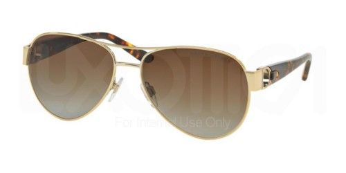 Womens 0RL7054Q 9116T5 Sunglasses, Light Gold/Gradientbrownpolar, 59 Ralph Lauren