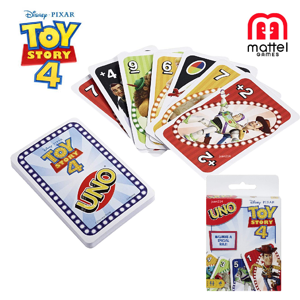 Details About Disney Pixar Uno Toy Story 4 Card Game Disney Pixar Toy Story Card Games