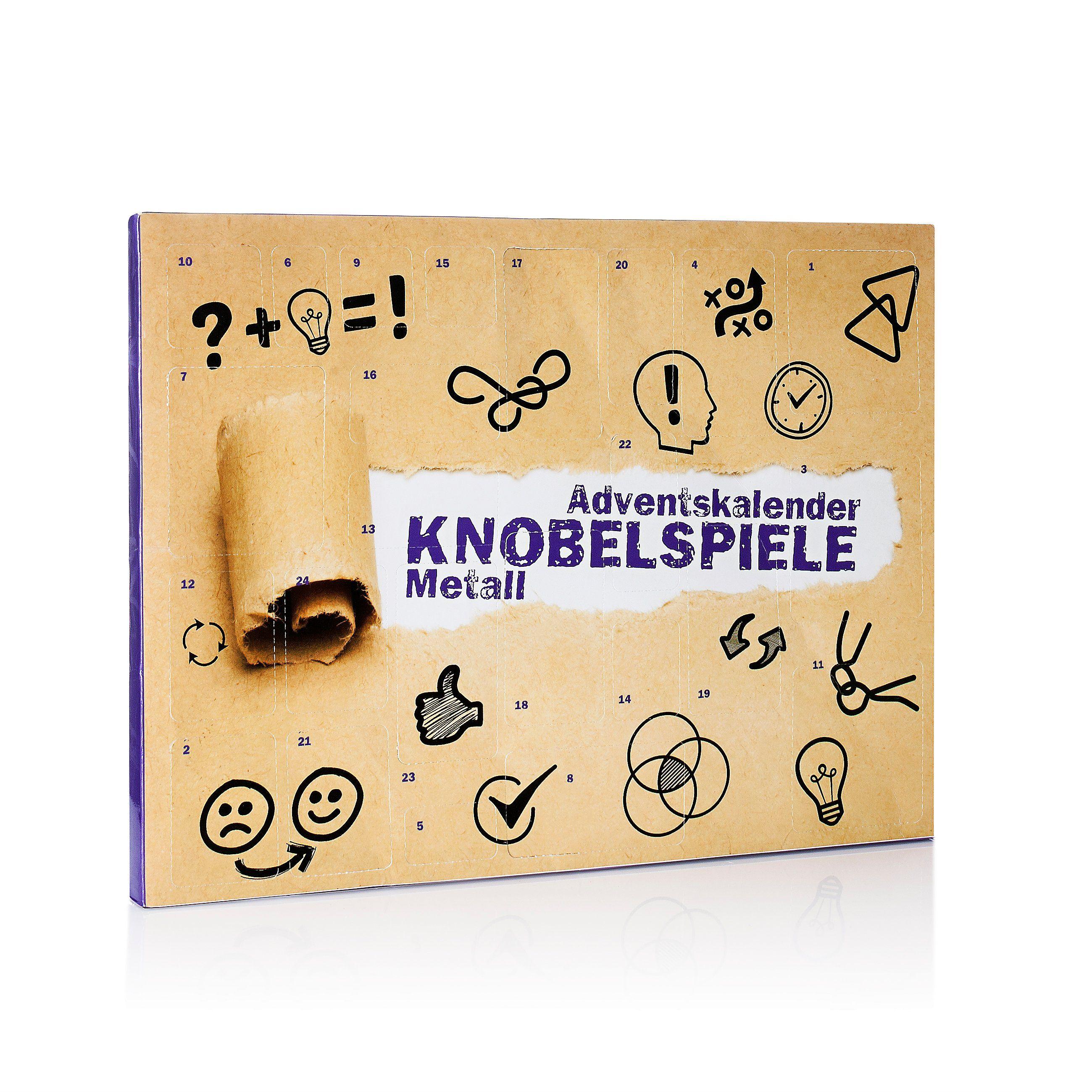 Adventskalender Knobelspiele Metall – Kalender bei Weltbild.de