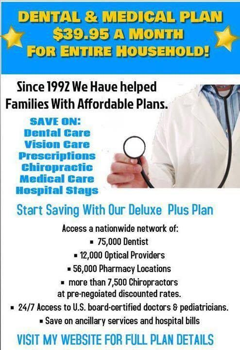 Check this amazing plan with many amazing benefits!! I also attached - care plan