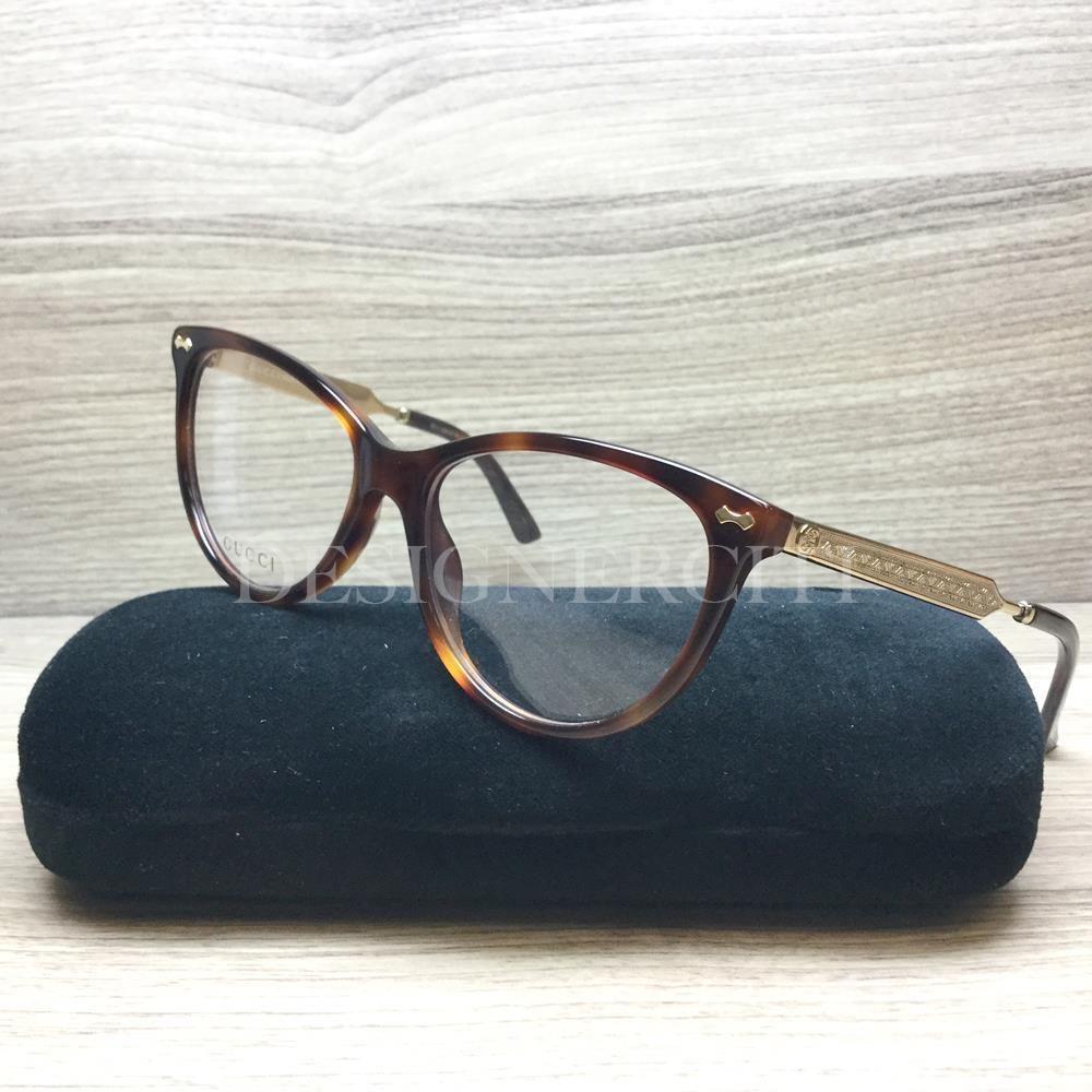 144865cad0 Gucci GG 3818 GG3818 Eyeglasses Havana Gold CRX Authentic 53mm ...