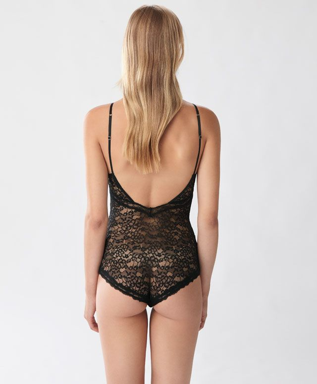 a329176736 Halter-neck bodysuit - Bodysuits - Winter SALE 2016 trends in women fashion  at Oysho online. Find lingerie