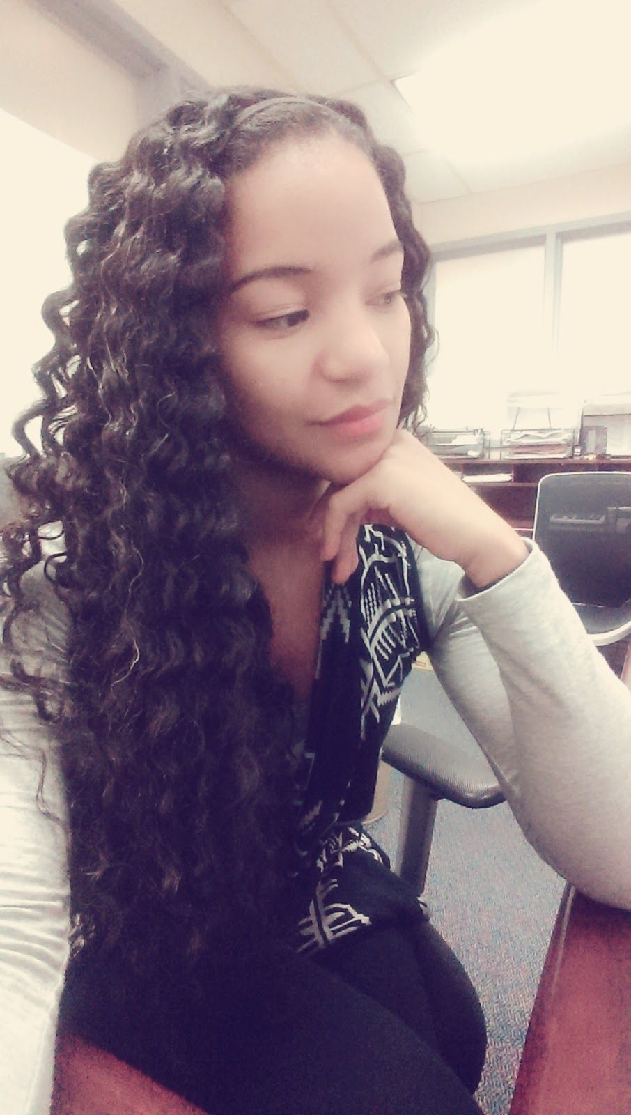 This is a hair braid out natural curly hair pinterest natural