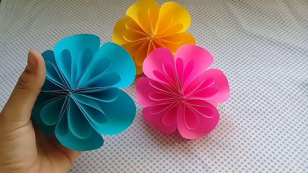 Flores De Papel Facil De Hacer Wea Sobres De Papel Flores