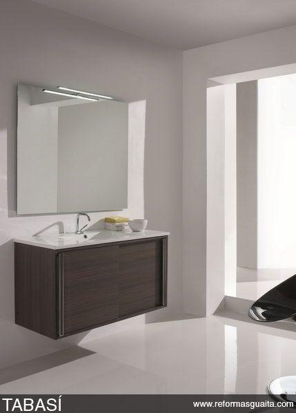Mueble ba o puerta corredera bathrooms decor muebles - Puerta corrediza para bano ...