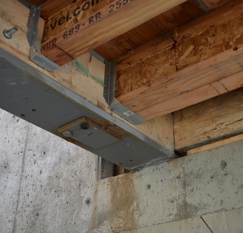 Wood Support Beams ~ Resultado de imagen para wood floor to steel connection