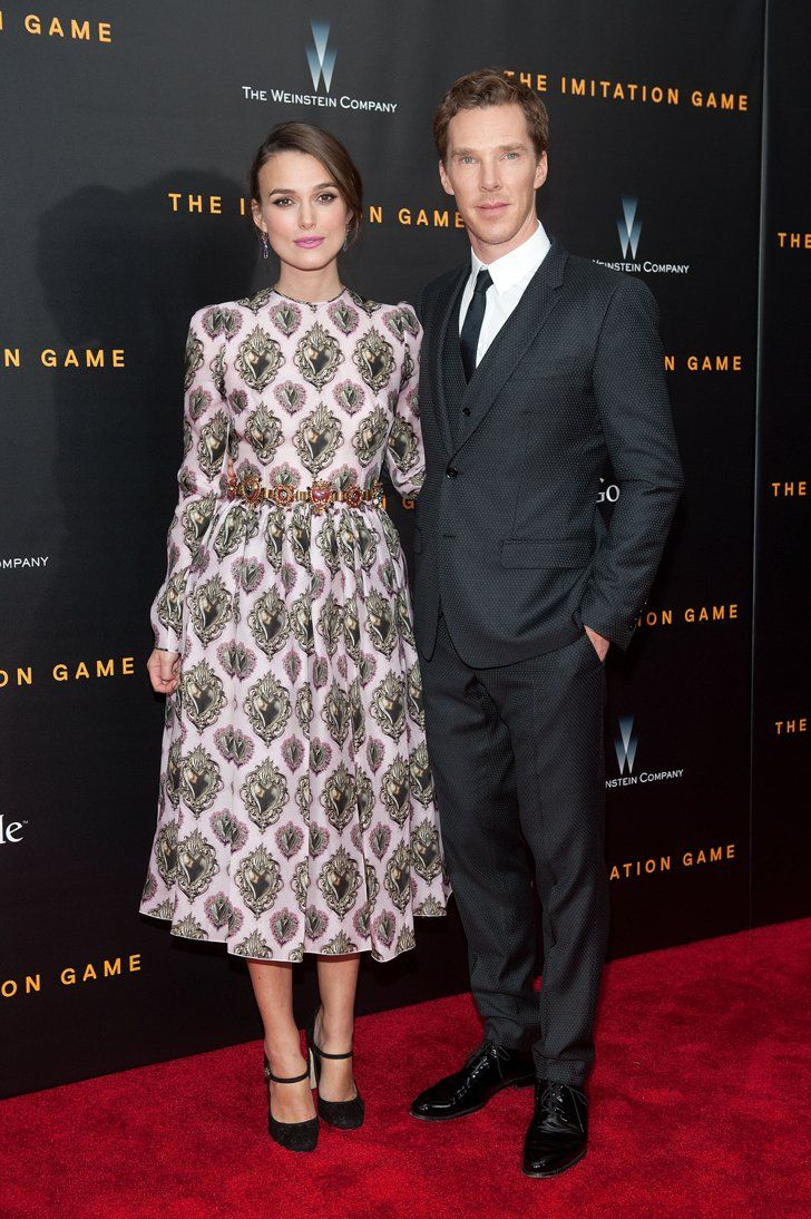 Pin for Later: Benedict Cumberbatch Makes His First Official Appearance With His Fiancée  Keira and Benedict took photos together.