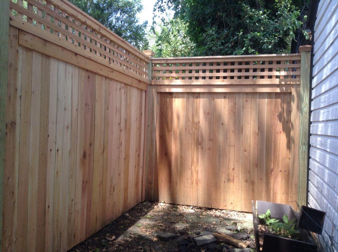 Great Screen backyard fence topper Concepts Yard timber fences appear in many designs plus sizes. Whether or not there is a regular picket barrier, the re...  #Backyard #Concepts #fence