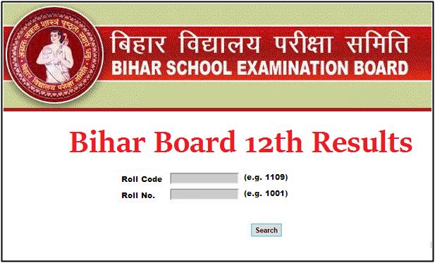 Bihar Board 12th Result 2020 Examination Board Bihar Previous Year