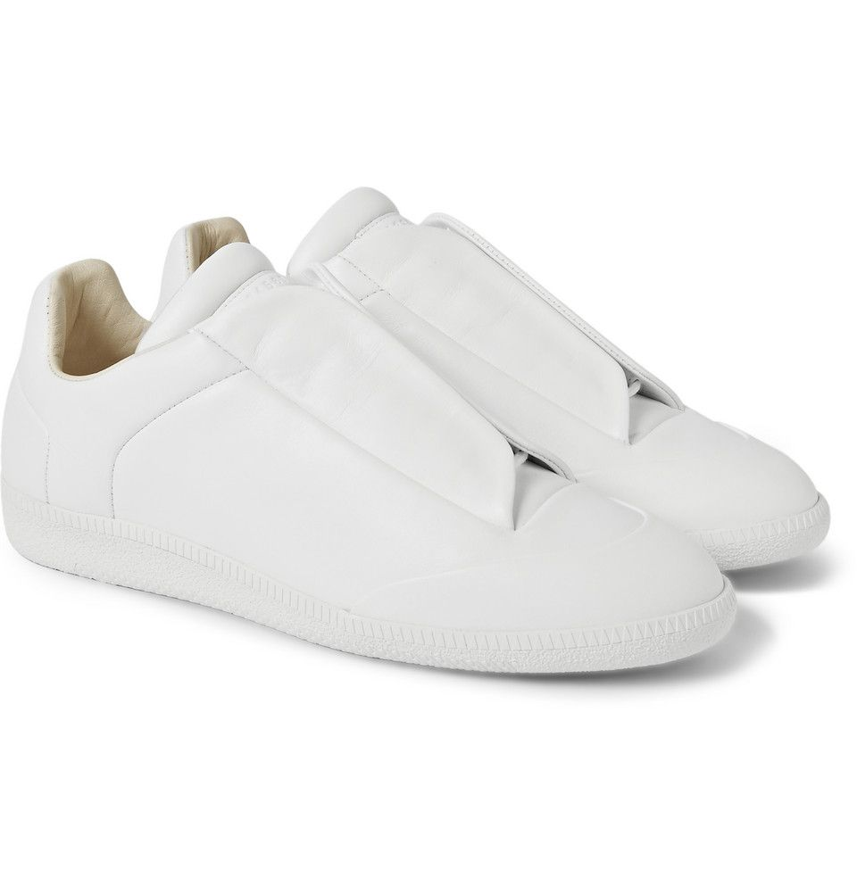 Maison Margiela  Leather Sneakers  MR PORTER
