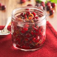 Cranberry Fig Relish