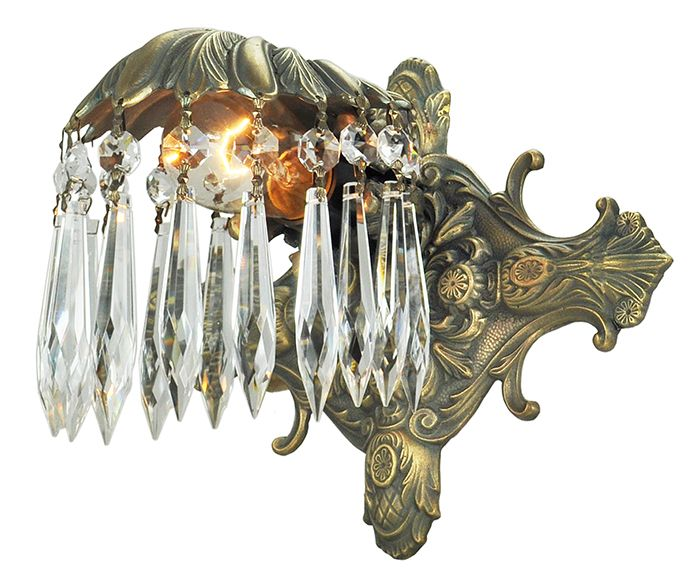 #Vintage #Hardware #VintageHardware #Lighting #Sconce #Crystal #Antique  #Recreation #Art #Deco #ArtDeco An Interesting Piece To Be Sure, This  Sconce Was ... Home Design Ideas