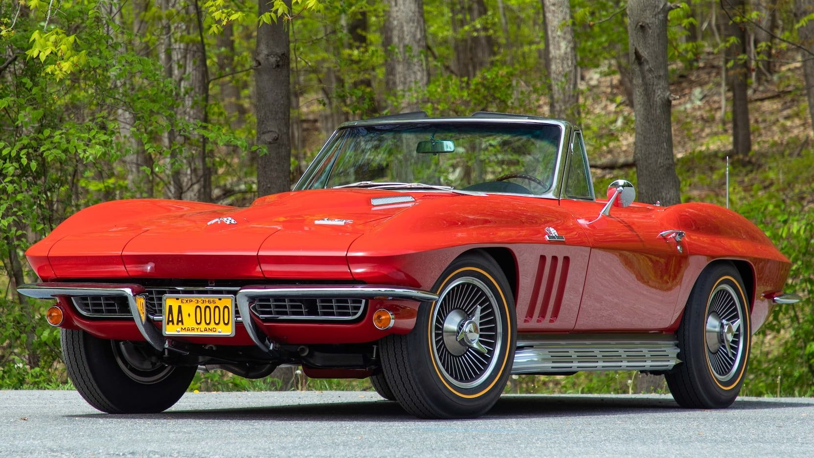 1966 Chevrolet Corvette Convertible Presented As Lot S88 At Harrisburg Pa Corvette Convertible Chevrolet Corvette Corvette