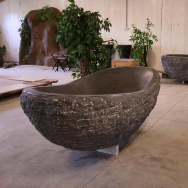 Badewanne Naturstein wave design oval badewanne aus naturstein afrika naturstein haus
