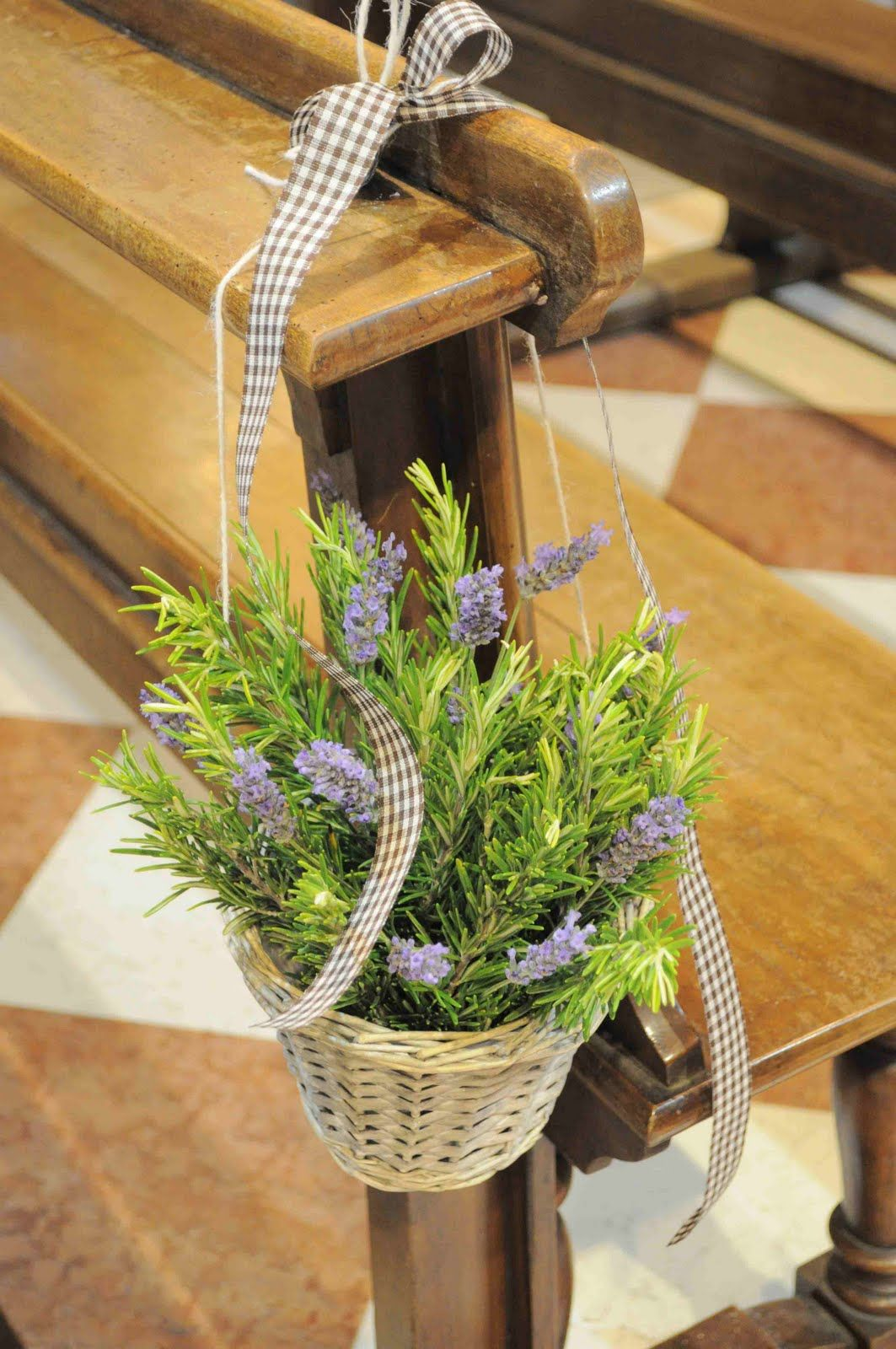 Matrimonio Country Chic Autunno : Fiori di lavanda