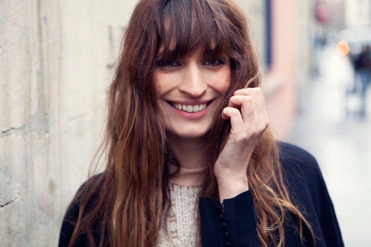 Caroline de Maigret - hair
