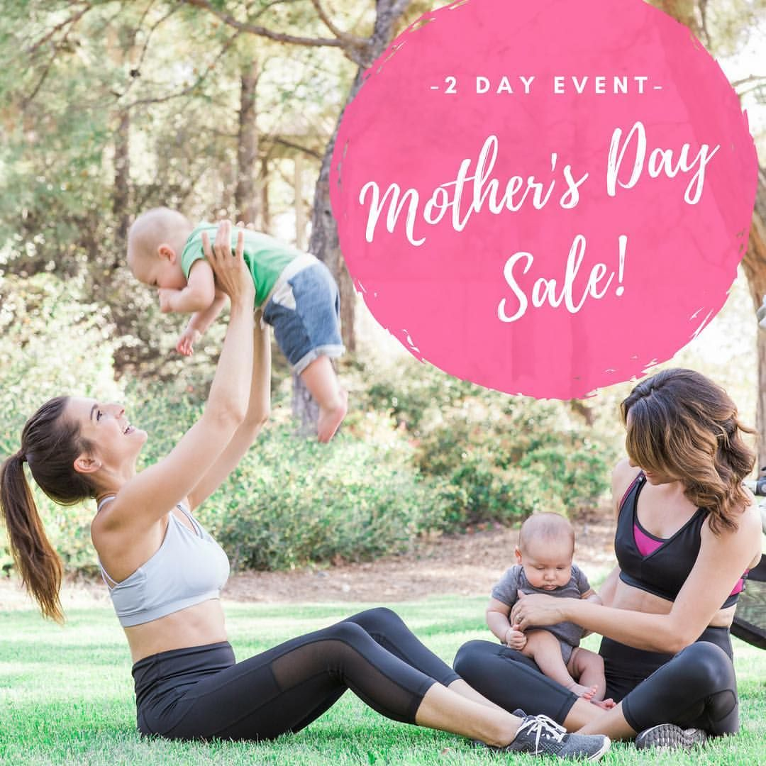 9f09e4f505c ... mamas who love everything that Love and Fit has to offer. The Pre2Post  leggings are worn by both ladies. The periwinkle Strappy Back Nursing  Sports Bra ...