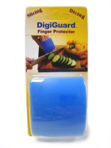 DigiGuard Knife Finger Protector by SCI. $6.86. Protects fingers while slicing with knives. Easy and comfortable to use. Protect your fingers when slicing with sharp knives. Easy and comfortable to use. Use to safely cut meat, fruits, vegetables, poultry, fish, and cheese. Dishwasher Safe.. Save 68%!