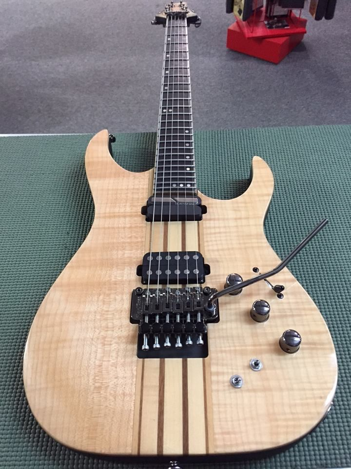 Schecter Guitars Banshee Elite6 FRS with Sustainiac system