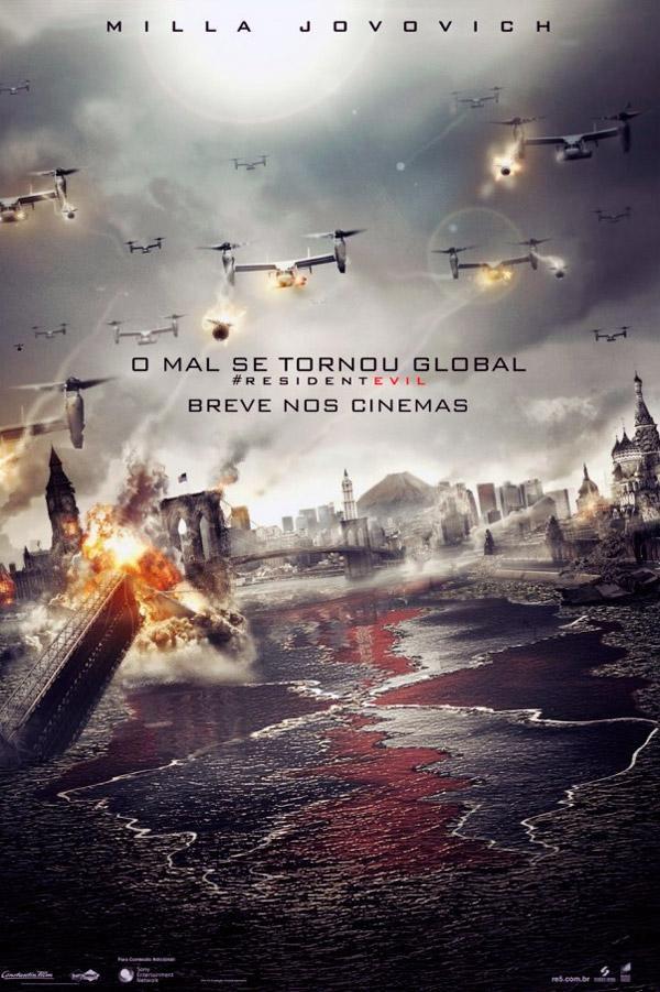 Resident Evil 5 Retribuicao Resident Evil Resident Evil 5 Posters De Filmes