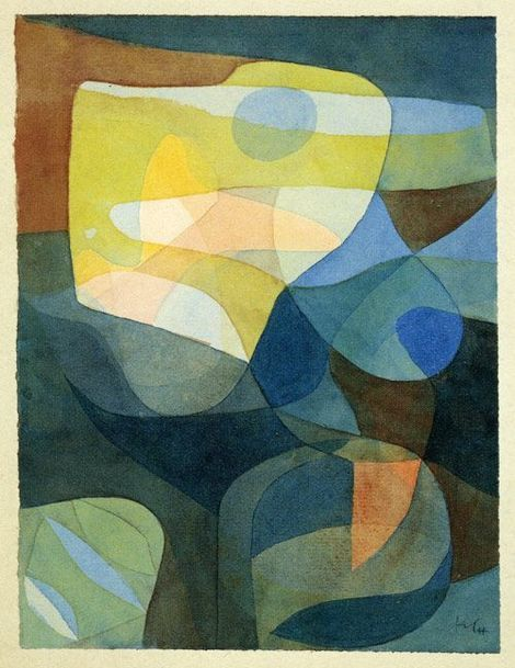 Light Broadering 1929 By Paul Klee Abstrakte Kunst Abstrakt Kunstproduktion